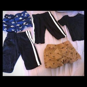 Baby boy clothes (0-3M)